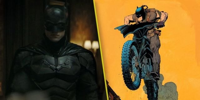 The Batman Batcycle Chase Scene Footage