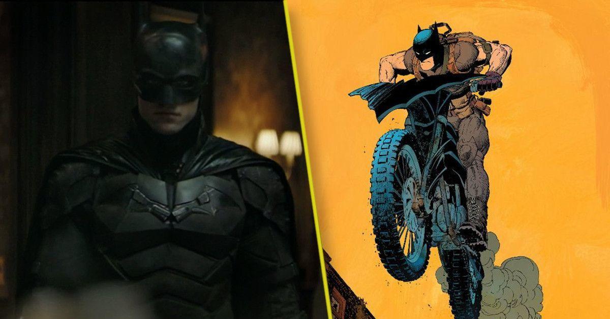 The Batman Batcycle Chase Scene Footage