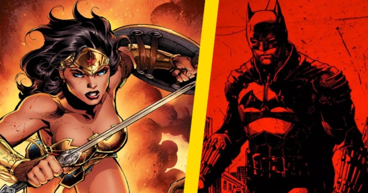 The Batman Movie Wonder Woman