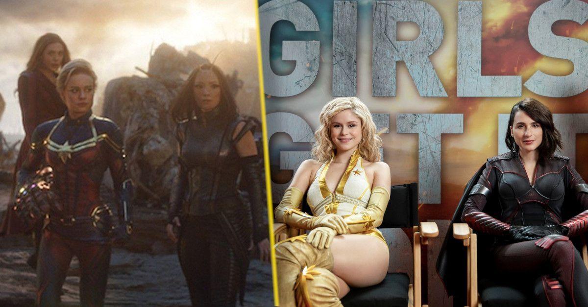 the boys season two avengers endgame girls
