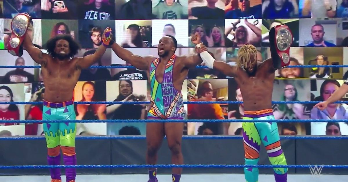 The New Day Kofi Kingston Xavier Woods Big E Farewell Match WWE SmackDown