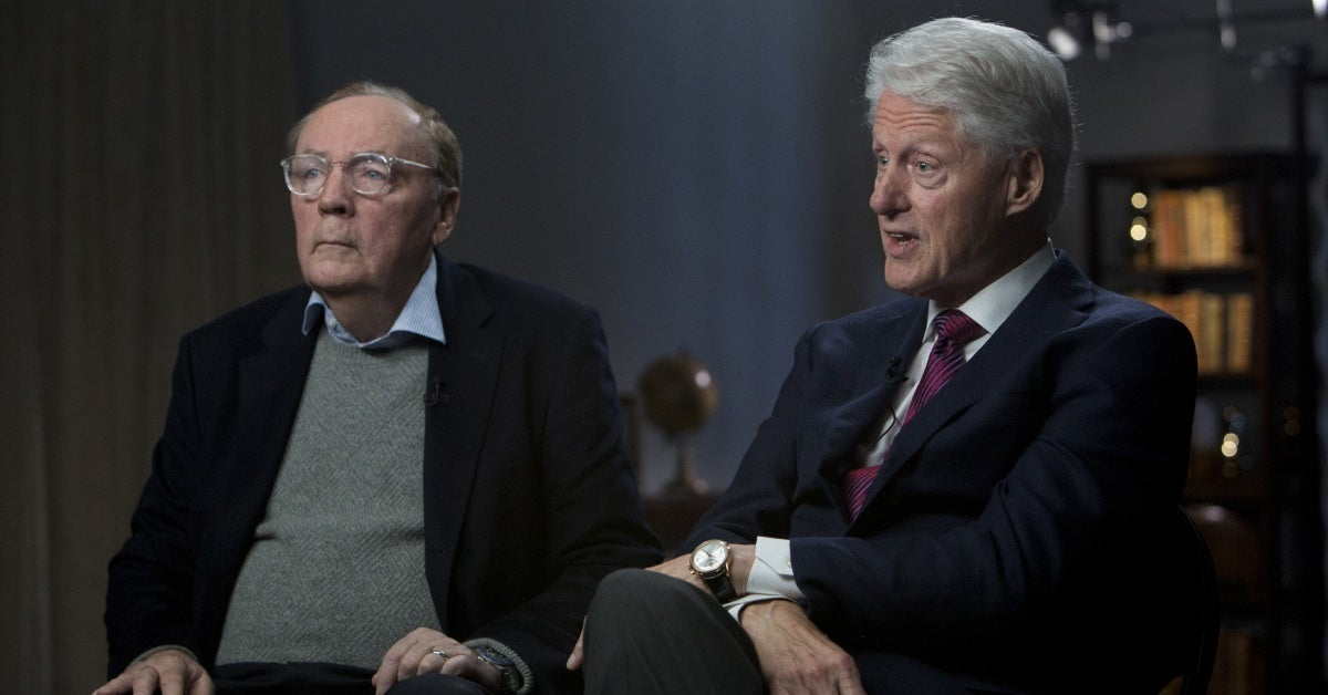 the president is missing james patterson bill clinton getty