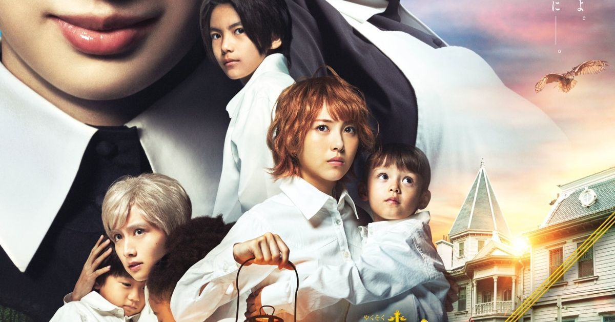 The Promised Neverland Live-Action Movie Poster