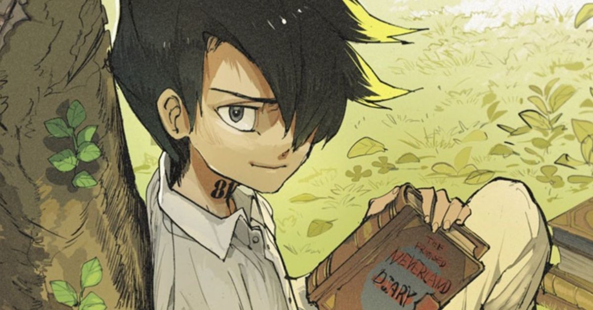 The Promised Neverland Ray Prequel Special Chapter Manga