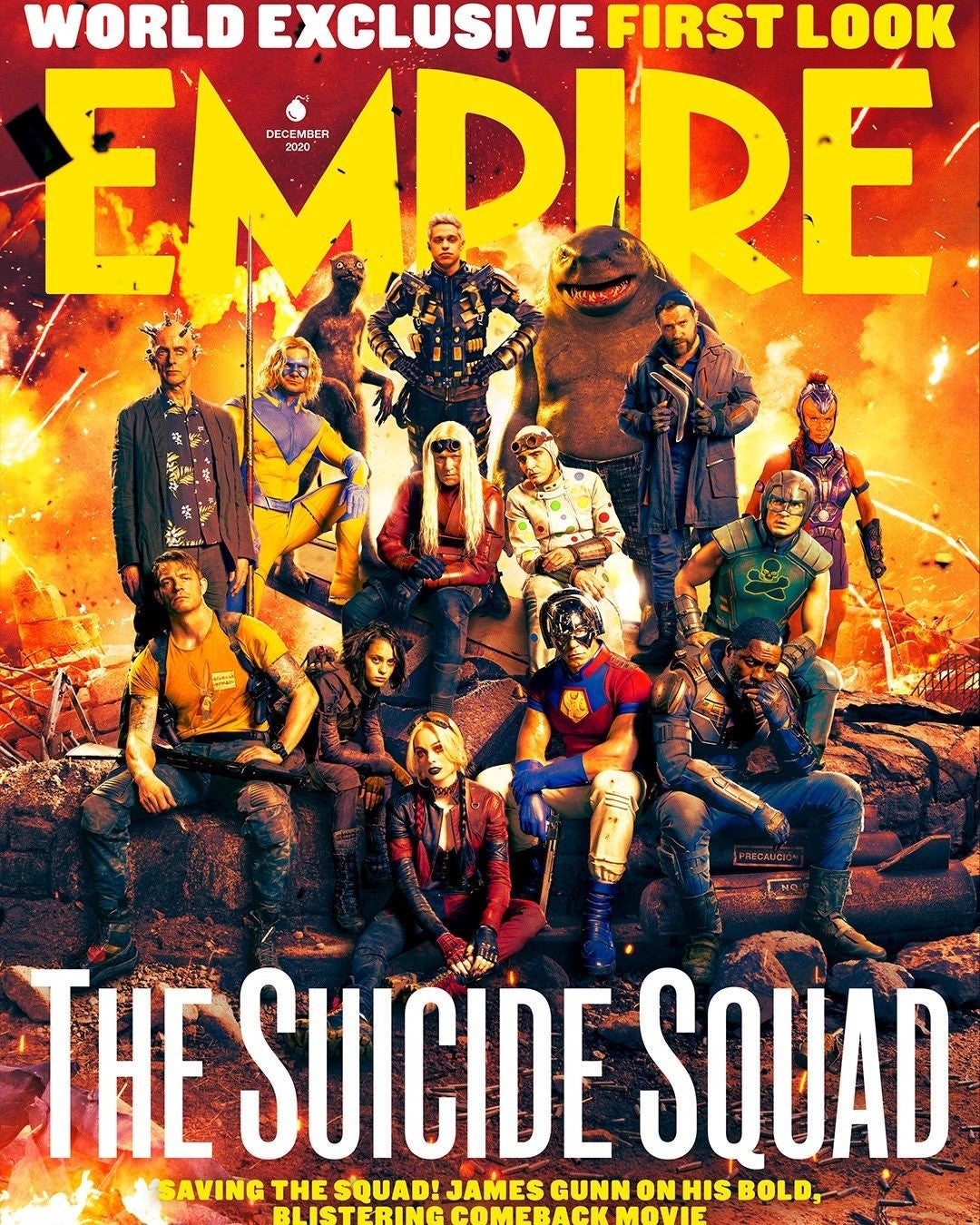 THe Suicide Squad Magazine Cover