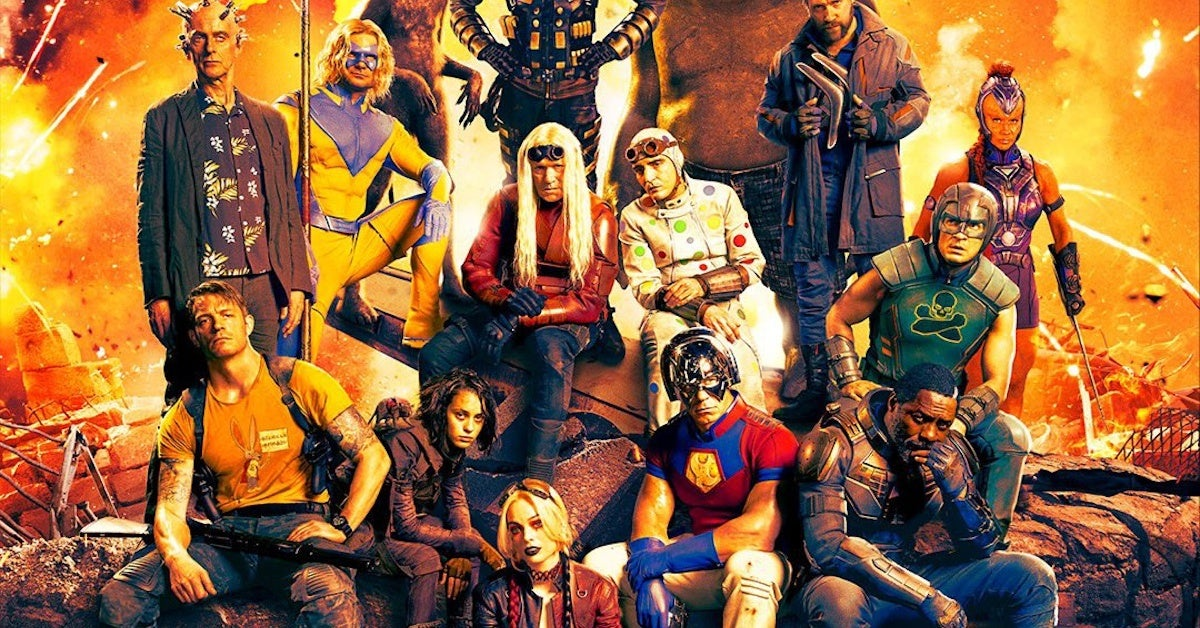 The Suicide Squad Movie Magazine Covers