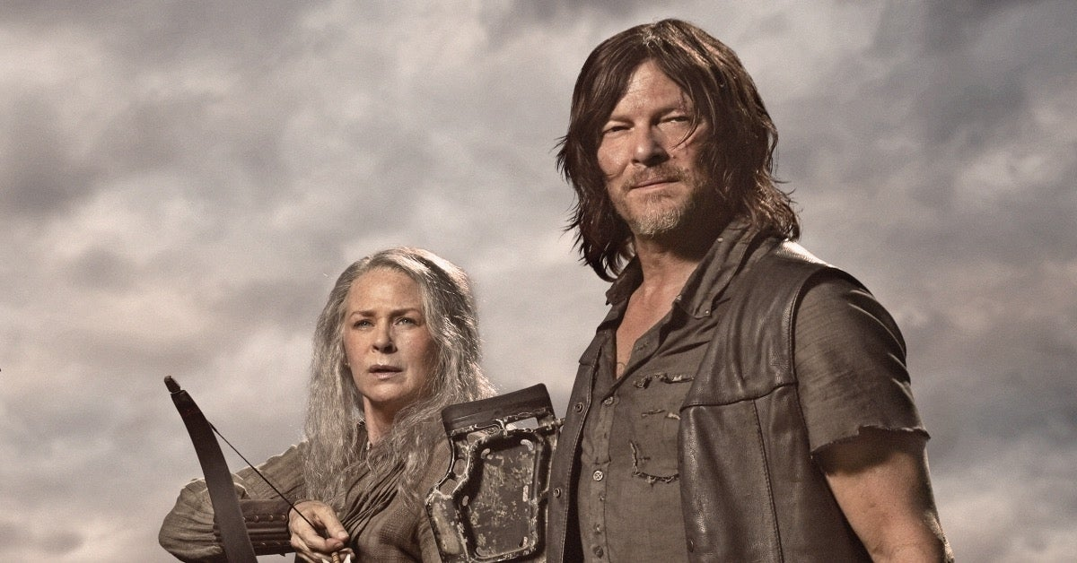 The Walking Dead Daryl Carol