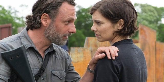 The Walking Dead Lauren Cohan Maggie Andrew Lincoln Rick Grimes