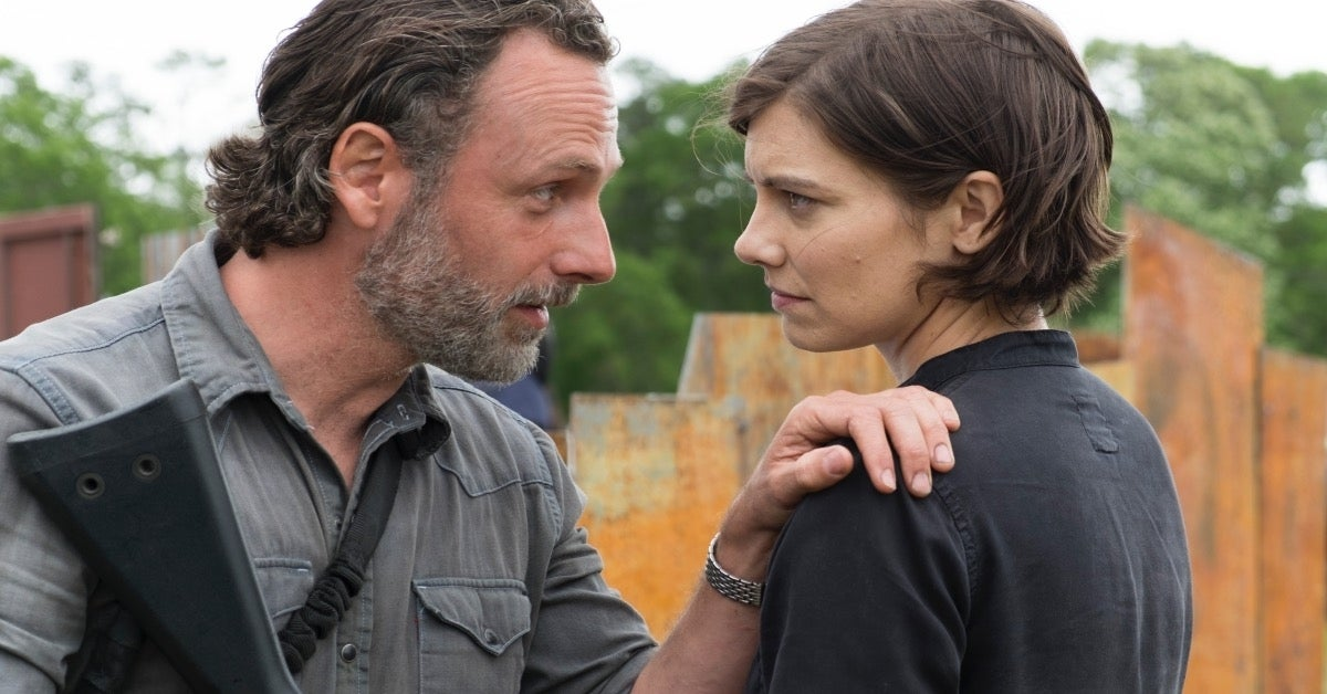 The Walking Dead Lauren Cohan Maggie Andrew Lincoln Rick Grimes