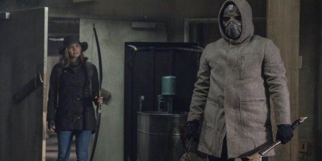 The Walking Dead Maggie Metal Masked Man