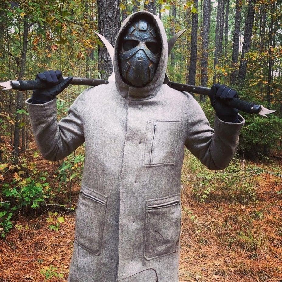 The Walking Dead man metal mask