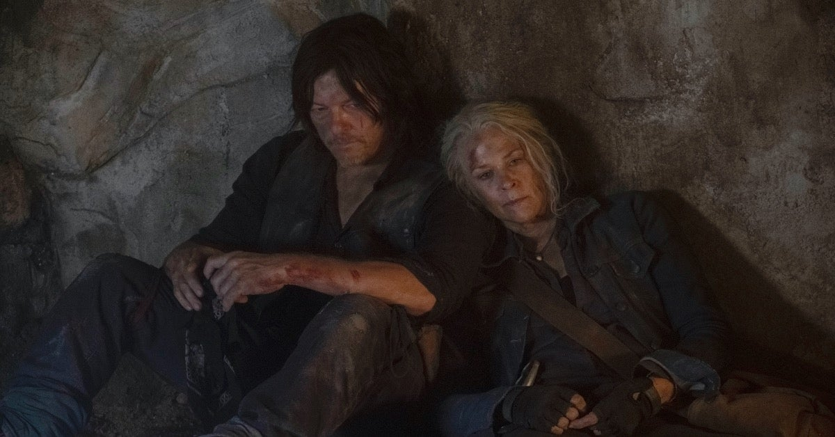 The Walking Dead Season 10 Daryl Carol Norman Reedus Melissa McBride