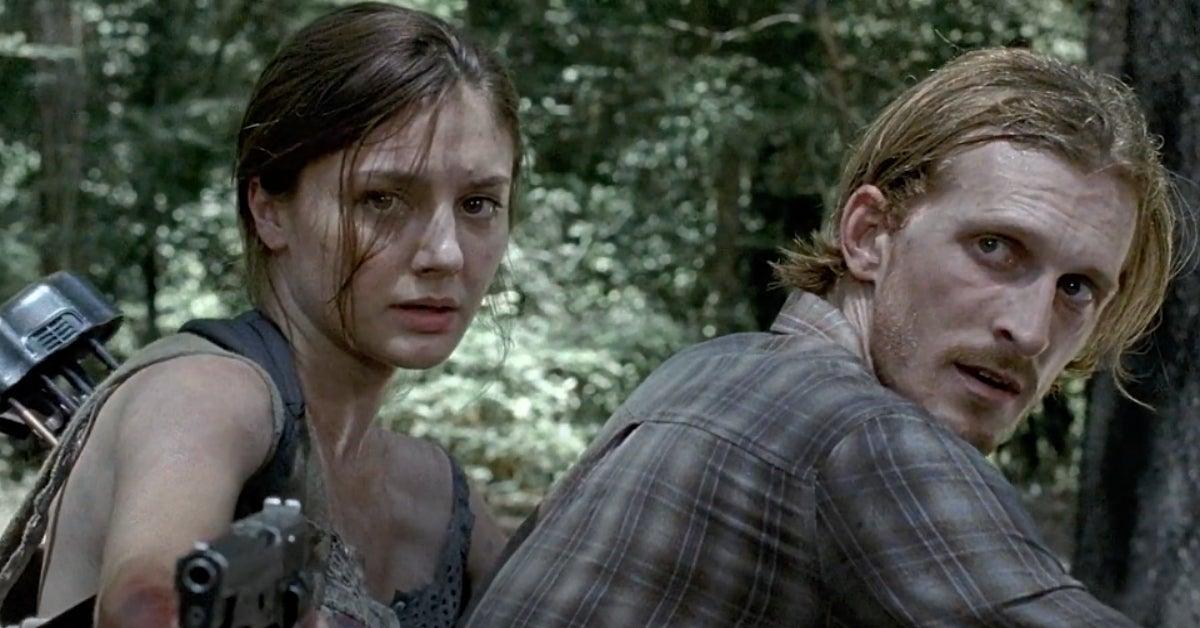 The Walking Dead Sherry Dwight Christine Evangelista Austin Amelio