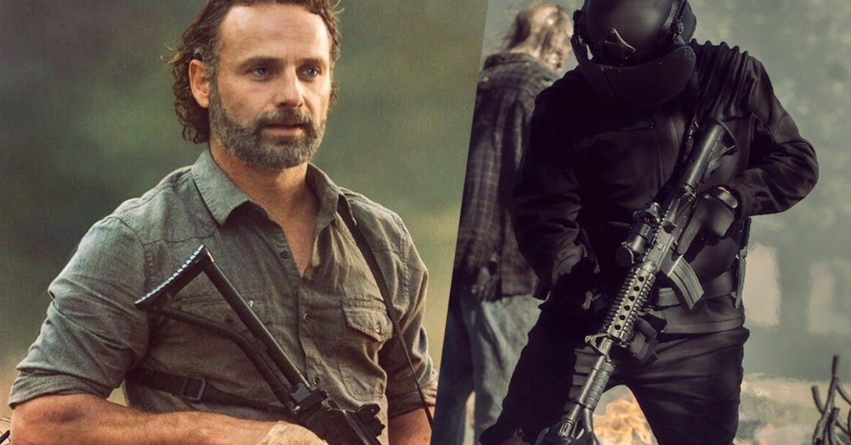 The Walking Dead World Beyond Rick Grimes