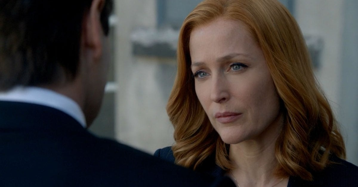 the x files dana scully seaosn 11 gillian anderson