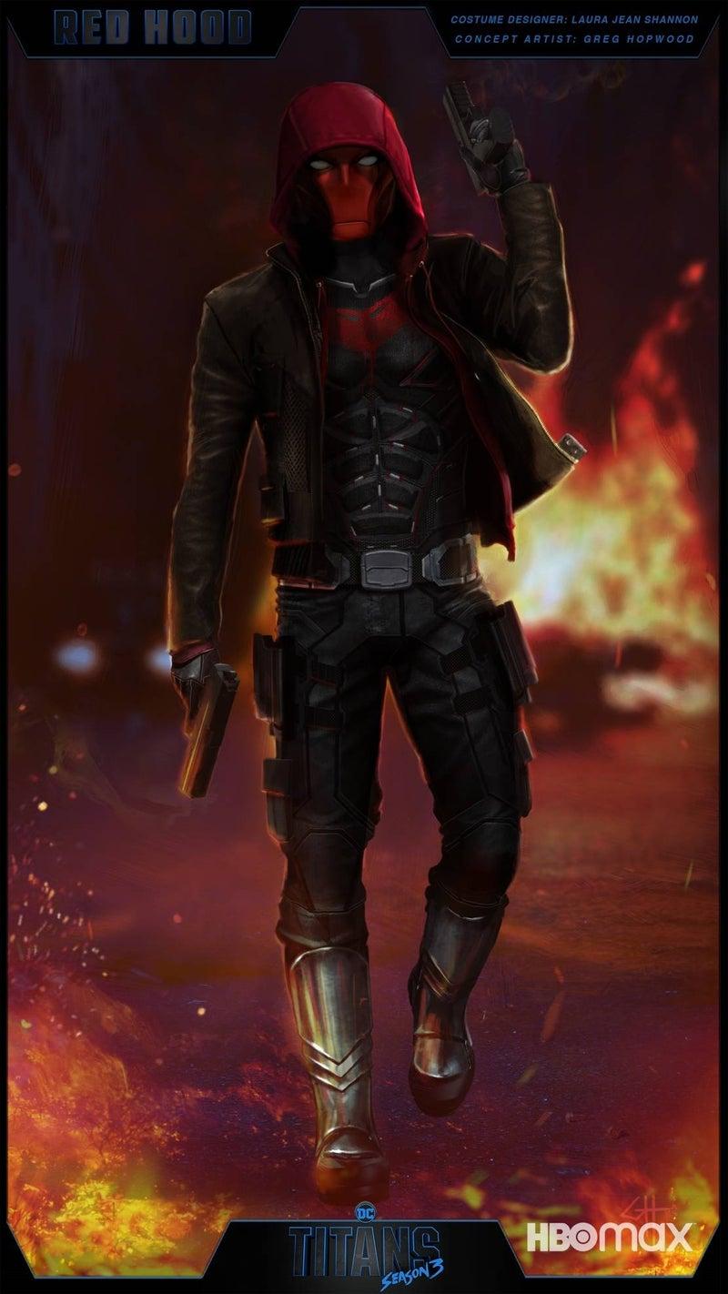 titans red hood concept art