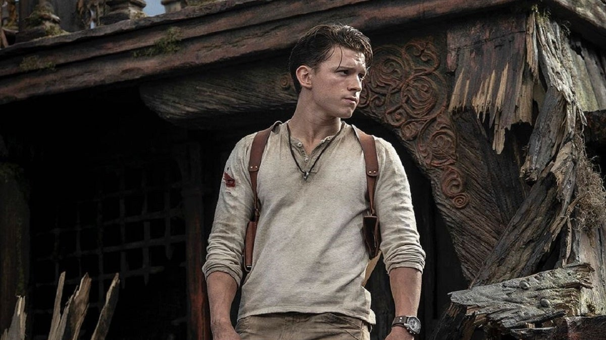 Uncharted Nathan Drake Tom Holland