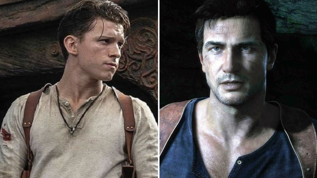 unhcarted tom holland nathan drake