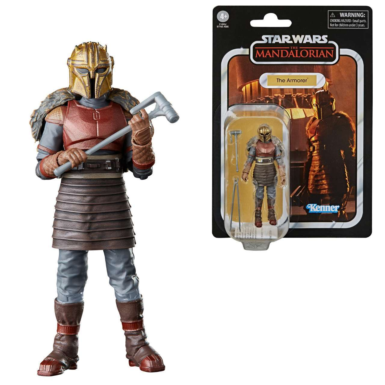 Star Wars The Vintage Collection The Armorer /& The Mandalorian IN HAND