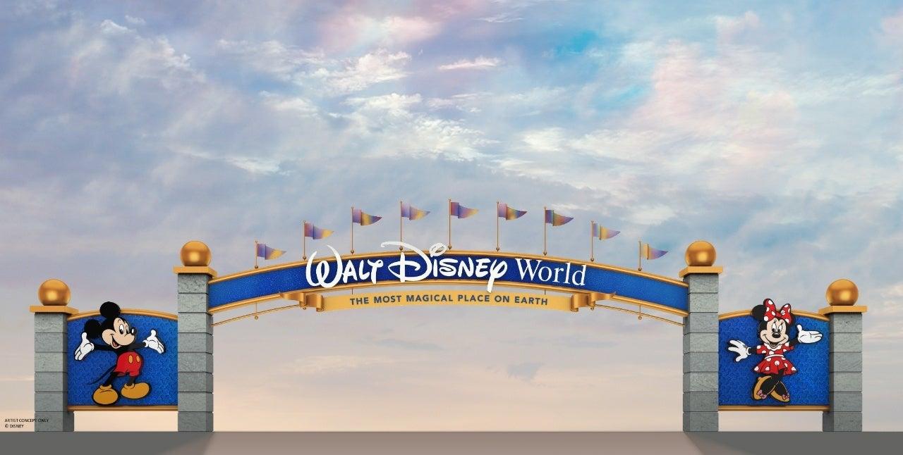 walt disney world new entrance