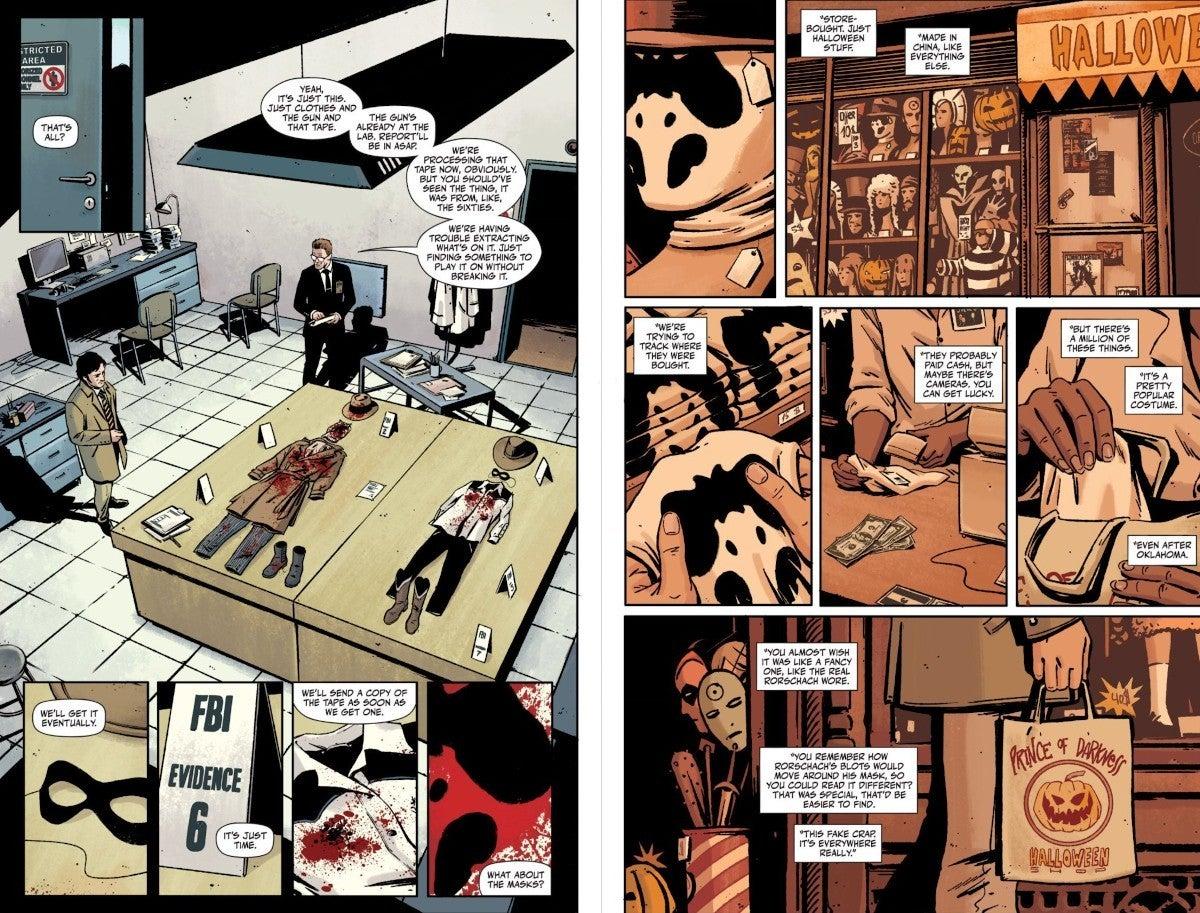 Watchmen Rorschach Comic TV Series Connections Explained