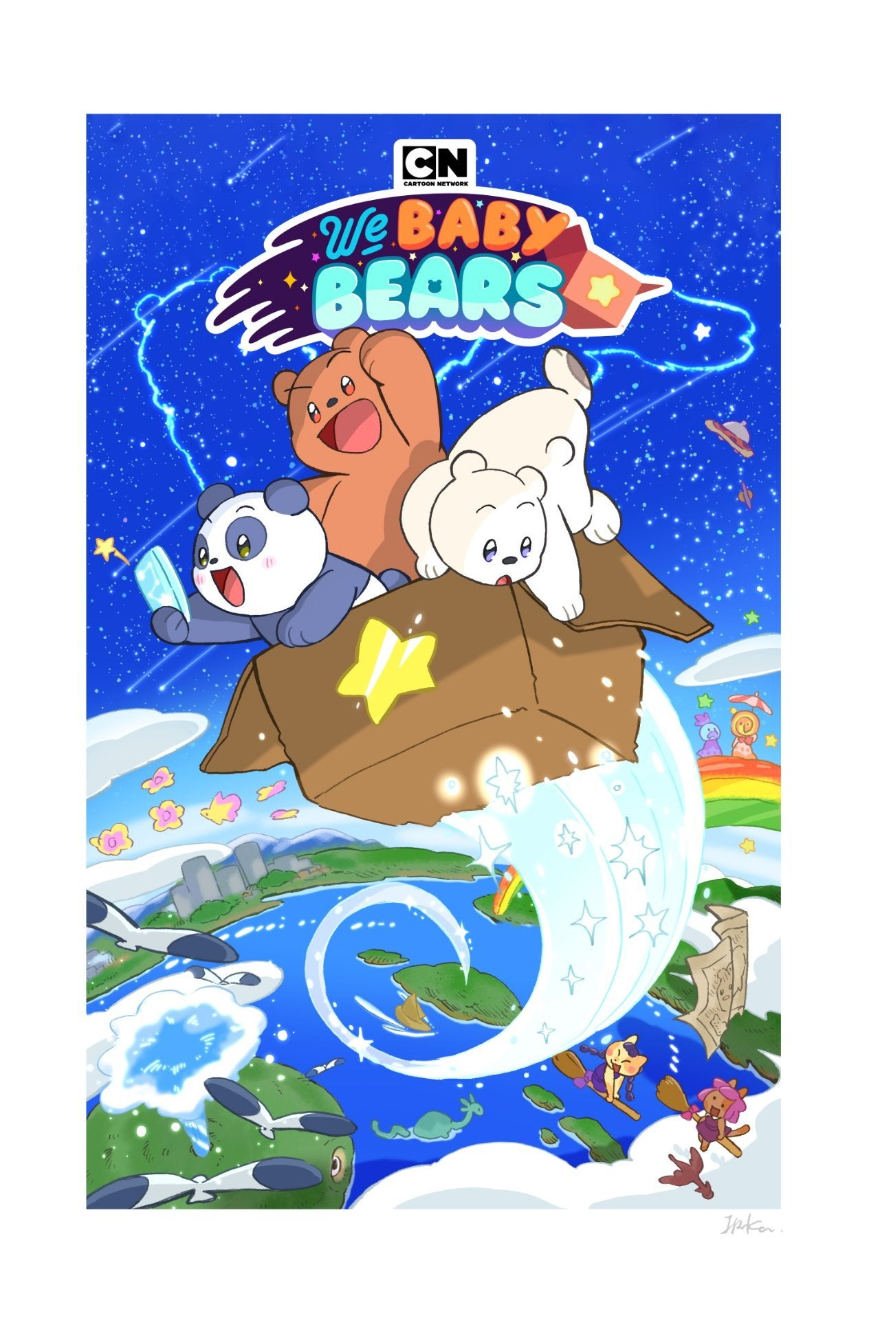 we baby bears key art