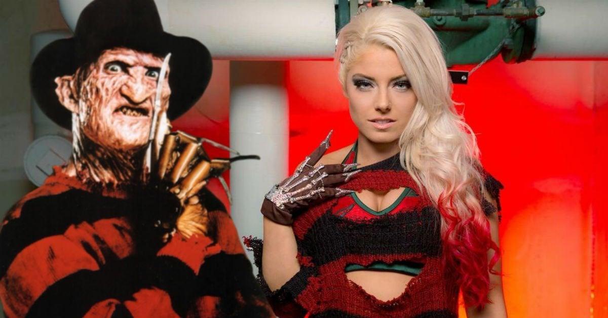 WWE-Alexa-Bliss-Freddy-Kruger
