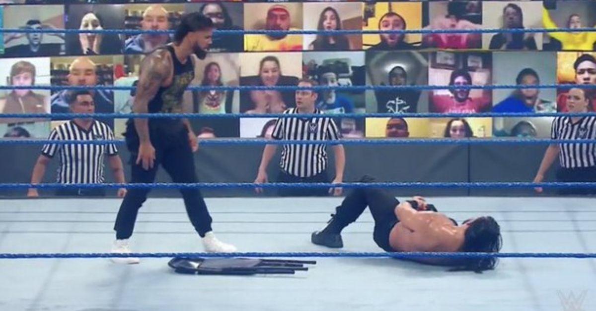 WWE SmackDown Roman Reigns Jey Uso Revenge