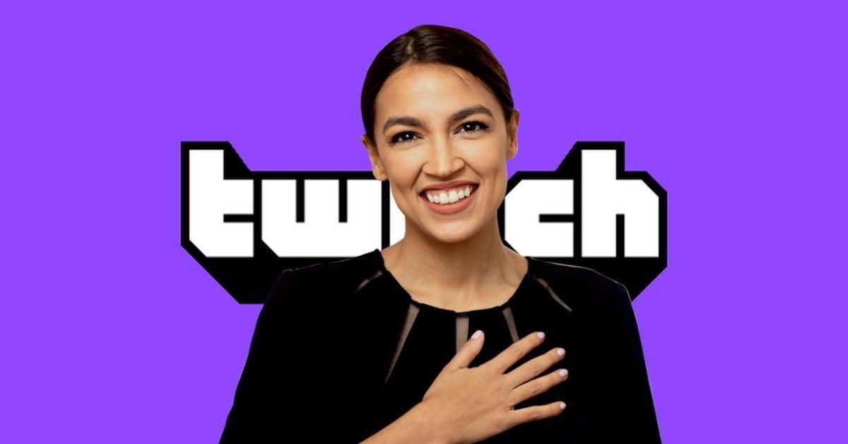 Alexandria Ocasio Cortez New Twitch Stream