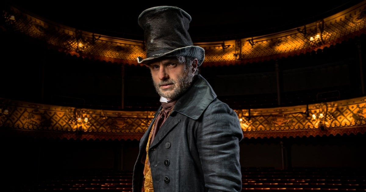 Andrew Lincoln A Christmas Carol Scrooge photo Helen Maybanks