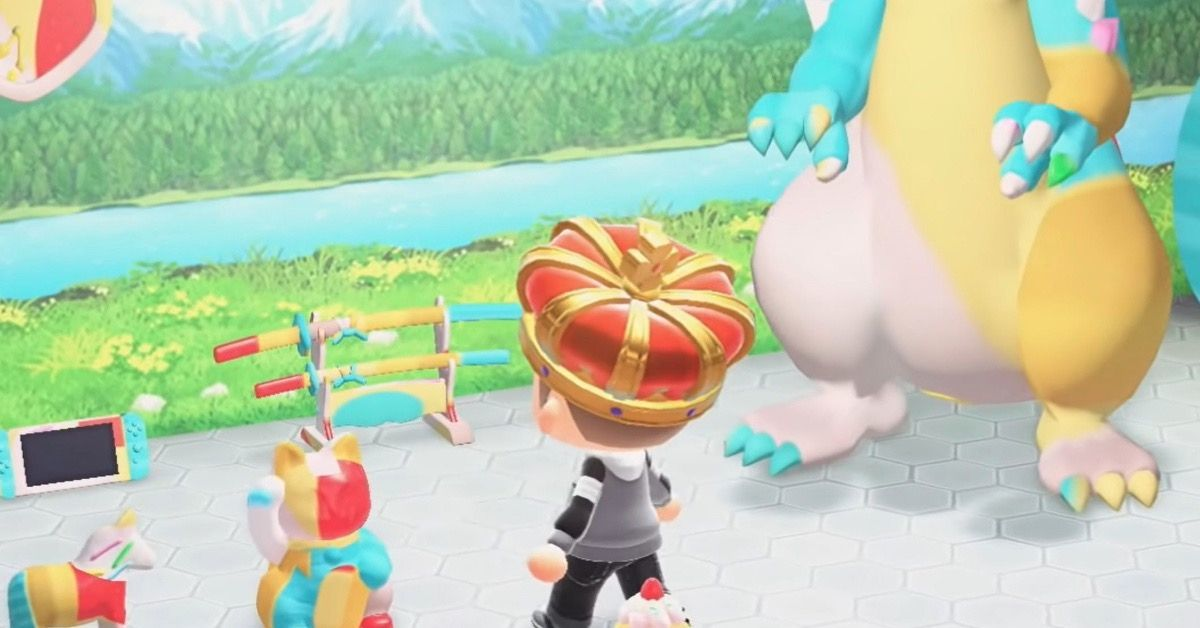 Animal Crossing camo glitch