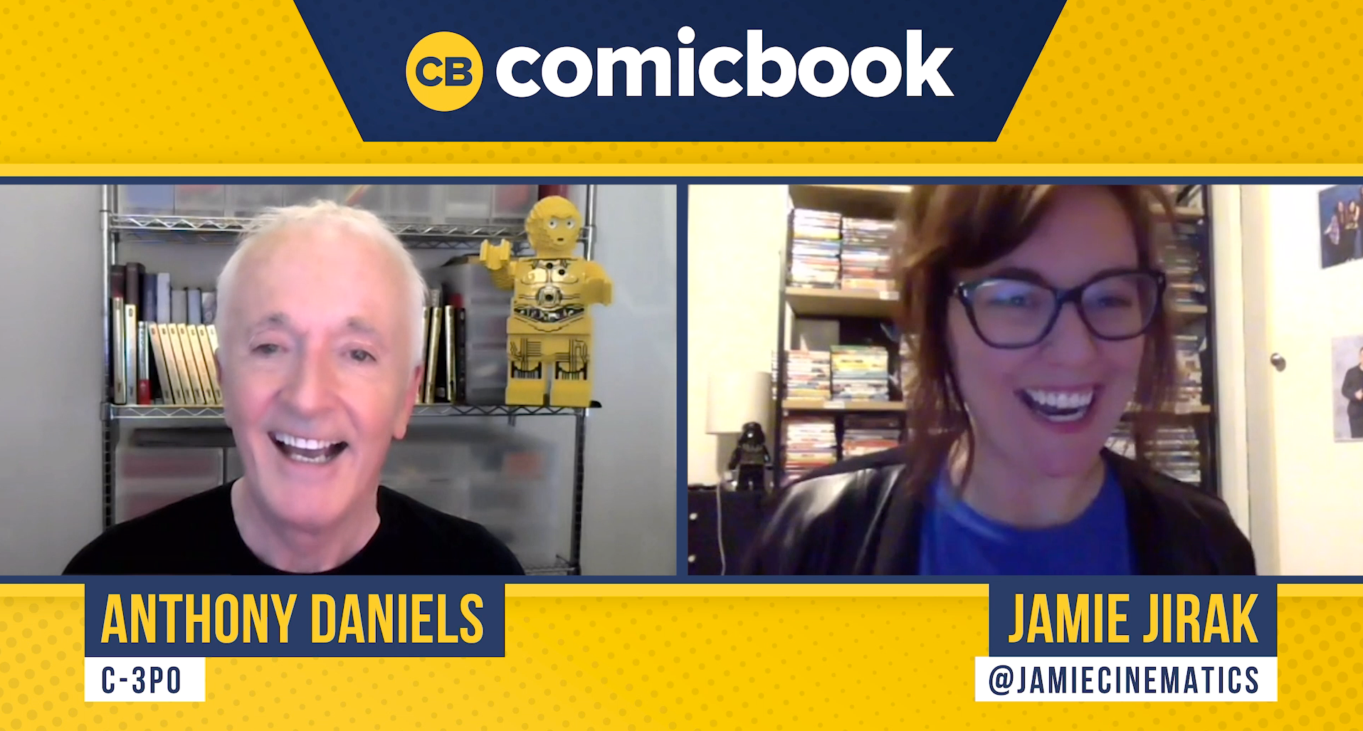 Anthony Daniels (C-3PO) Talks Star Wars - ComicBook.com Exclusive Interview