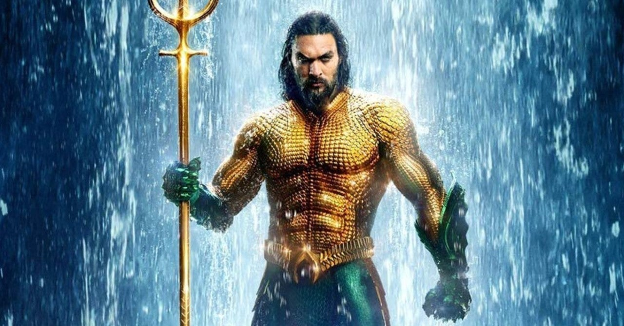 Aquaman e o Reino Perdido; Jason Momoa; Aquaman 2; James Wan