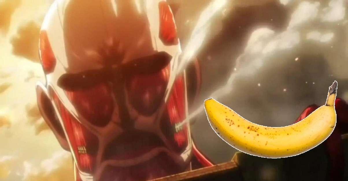 Attack On Titan Banana Carving