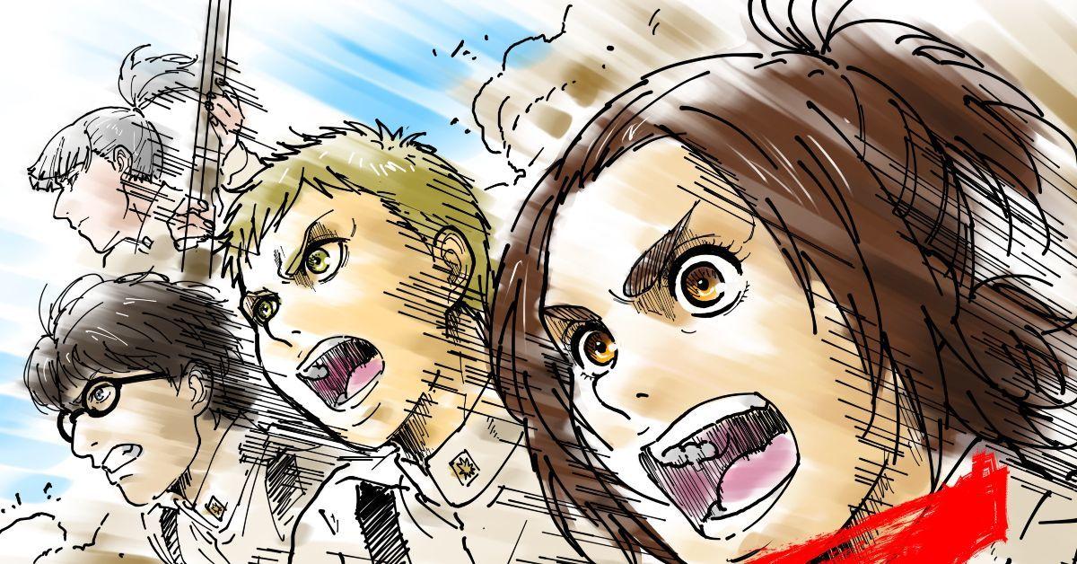 Attack on Titan Season 4 Countdown Sketch