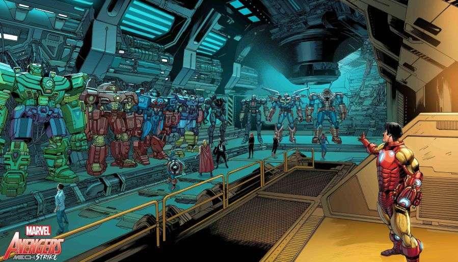 avengers mech strike 3