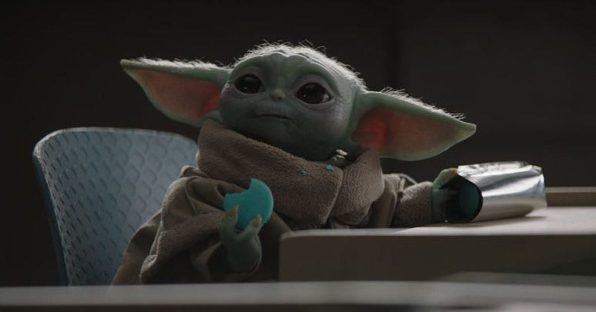 baby yoda cookies for sale