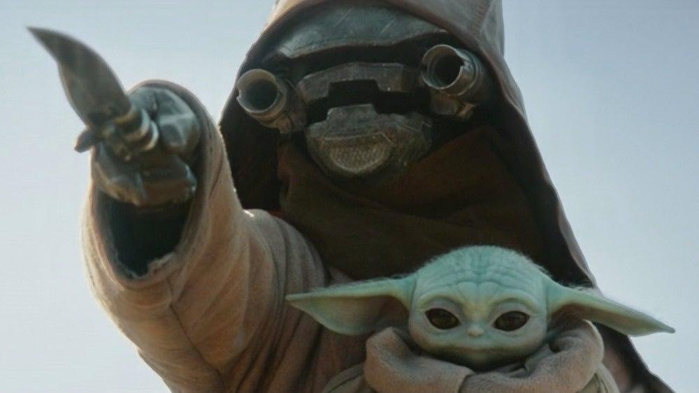 baby yoda scrapjaw mandalorian force awakens