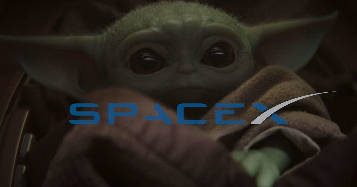 Baby Yoda SpaceX