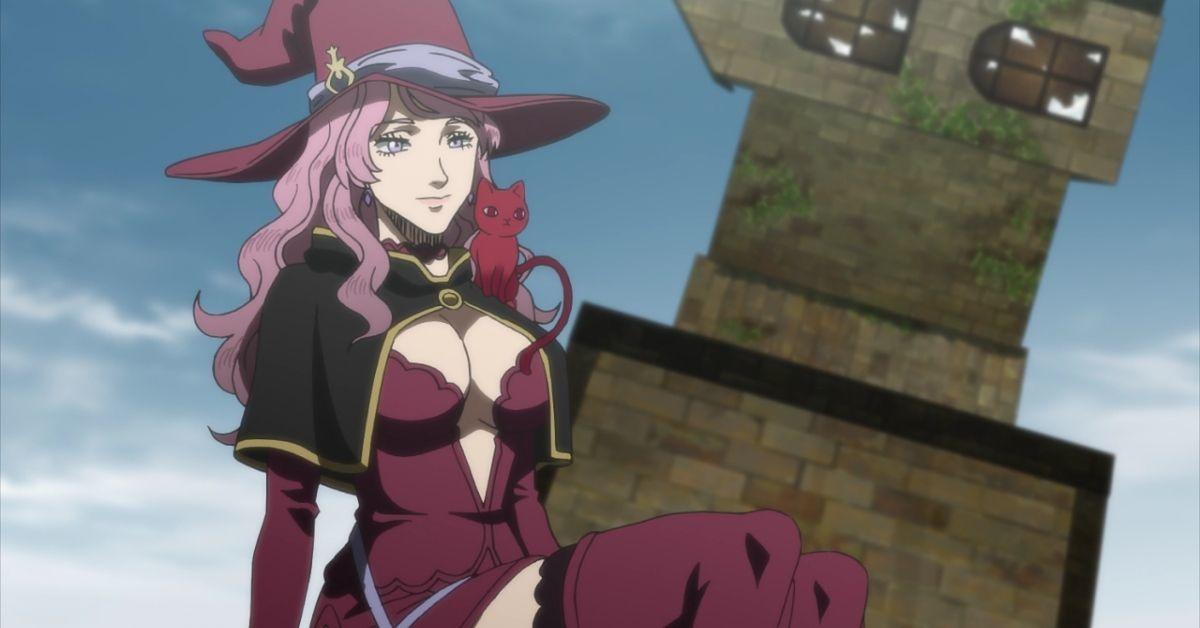 Black Clover Vanessa Enoteca Anime