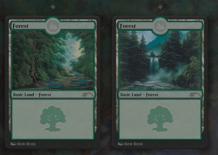 Bob Ross Forests