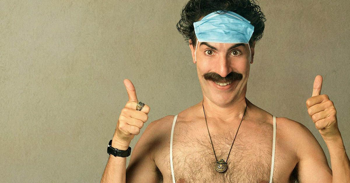 borat 2 movie poster controversy