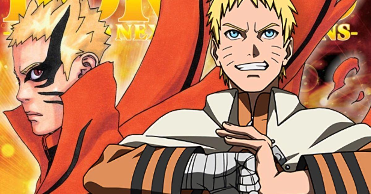 Boruto Naruto Baryon Mode New Form Manga