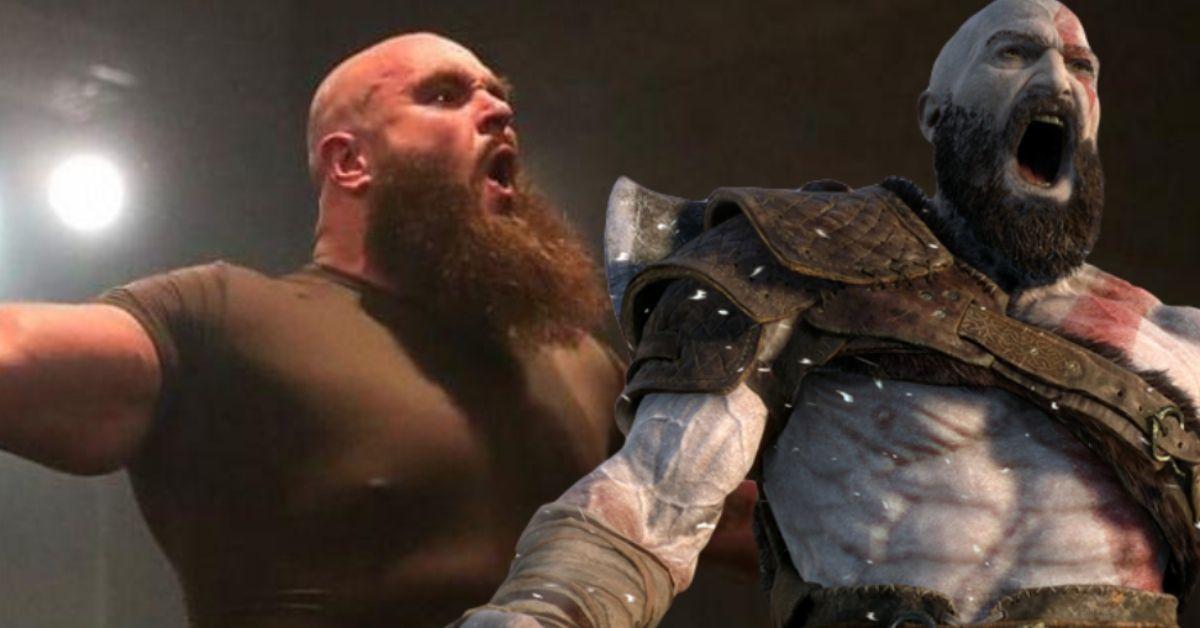 Braun Strowman WWE God of War Kratos Halloween Costume