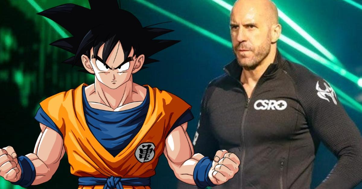 Cesaro WWE Dragon Ball