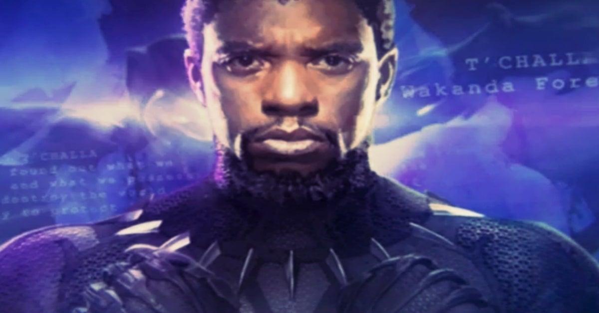 Chadwick Boseman Birthday Marvel Studios logo Black Panther DisneyPlus