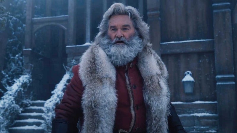 christmas chronicles santa kurt russell