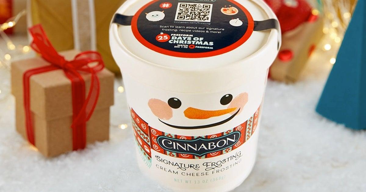 cinnabon frosting pint