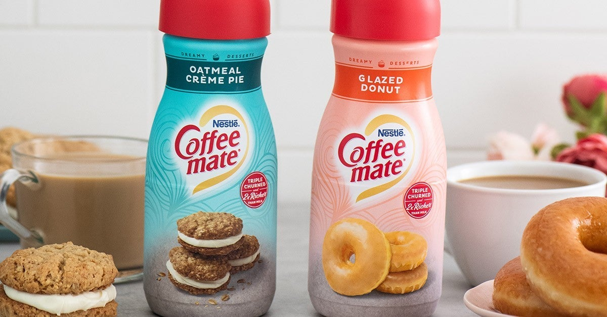 coffee mate oatmeal creme pie