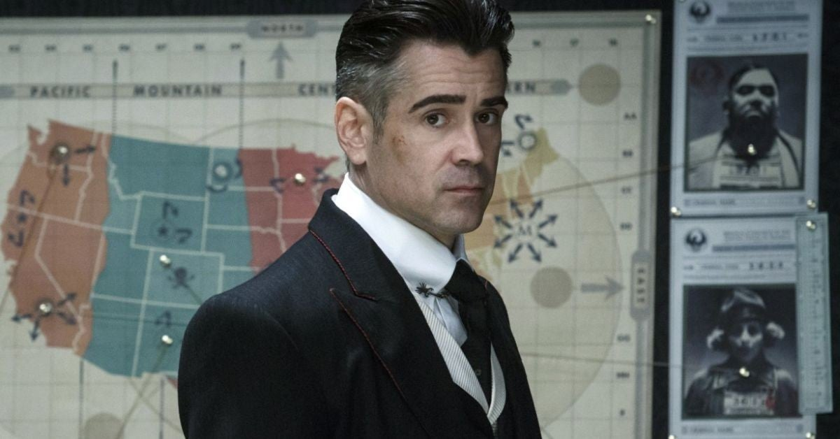 colin farrell fantastic beasts johnny depp